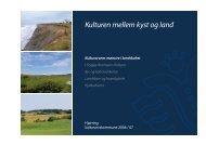 1. Kulturen mellem kyst og land - Kulturarvens mønstre i landskabet.