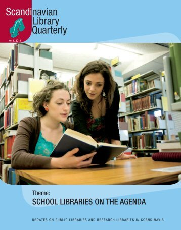 The issue in PDF - Scandinavian Library Quarterly