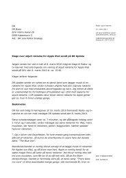Klage over skjult reklame for Apples iPad på DR Update