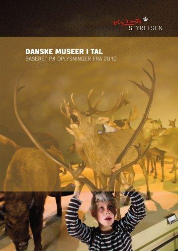 Hent Danske museer i tal - Kulturstyrelsen