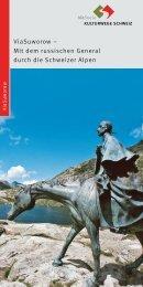 ViaSuworow - Kulturwege Schweiz