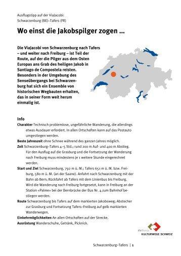 Detaillierte Routenbeschreibung mit Karte (PDF) - Kulturwege ...