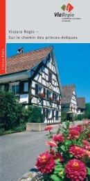 Programme et offre forfaitaire ViaJura Regio - Kulturwege Schweiz