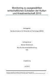 pdf download - Kulturwirtschaft – Culture & Creative Industries in ...