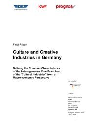 KWF - Kulturwirtschaft – Culture & Creative Industries in Germany