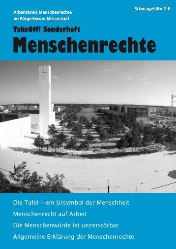 TakeOff! Sonderheft - Kulturzentrum Messestadt