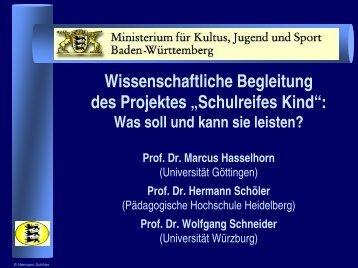 Präsentation - Zum Kultusportal