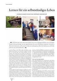 Lernen für ein selbständiges Leben - Ministerium für Kultus, Jugend ...