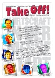 Take Off Nr. 48 - Kulturzentrum Messestadt
