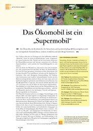 """Das Ökomobil ist ein """"Supermobil"""" - Zum Kultusportal"""