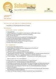 SchulNews online 43, Juli/August 2013 (PDF 249 KB)