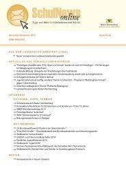 SchulNews online - Zum Kultusportal