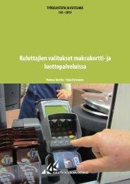 Kuluttajien valitukset maksukortti- ja luottopalveluissa (pdf)