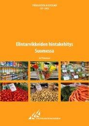 Elintarvikkeiden hintakehitys Suomessa - Kuluttajatutkimuskeskus