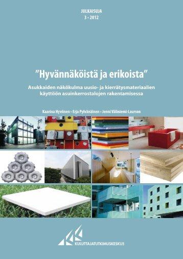 2012 03 julkaisu vav - Kuluttajatutkimuskeskus
