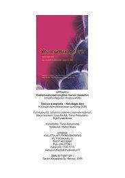 lukijalle - Kuluttajatutkimuskeskus