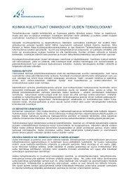 2003 09 Kuinka kuluttajat omaksuvat uuden teknologian