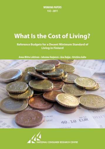 "working papers ""What is the Cost of Living?"" - Reference Budgets"