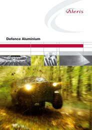 Defence Aluminium – Plate Products - Aleris