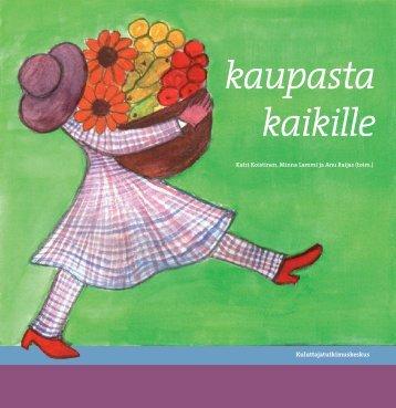 Kirja: Kaupasta kaikille - Kuluttajatutkimuskeskus