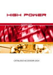High Power - Catalogo Accessori 2014