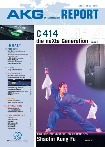 SCHNELL INSTALLIERT AKG DAC Discreet Acoustics Compact ...