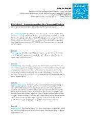 Anwendung Küchen KB - Kuhn und Bieri AG