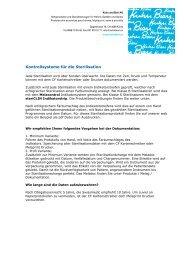 Kontrollsysteme für die Sterilisation - Kuhn und Bieri AG