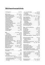 Stichwortverzeichnis - Kiehl