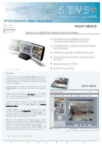 NVR 1600 - Gate24.ch