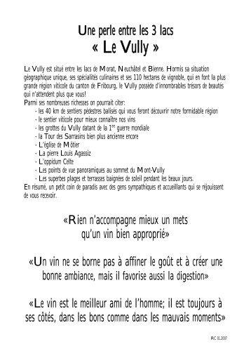 carte des vins - Gate24.ch