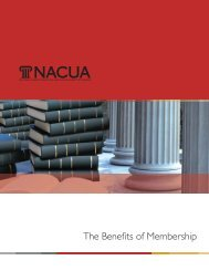 NACUA Membership Brochure - National Association of College ...