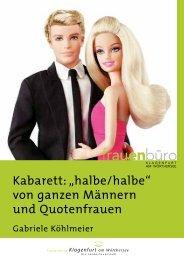"""Kabarett: """"halbe/halbe"""" von ganzen Männern und ... - Mein Klagenfurt"""