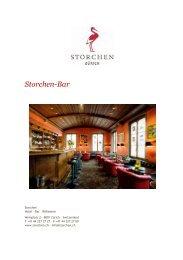 Single Malt Whisky - Hotel zum Storchen