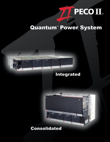 Quantum Power System 181 Cutsheet - Lineage Power
