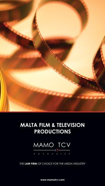 MALTA FILM & TELEVISION PRODUCTIONS - MAMOTCV.com