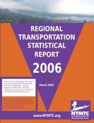 Regional Transportation Statistical Report - New York Metropolitan ...