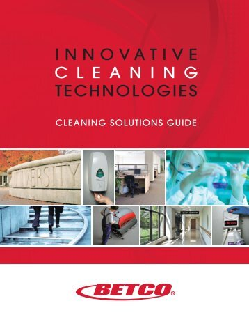 Betco Solutions Guide - Betco Corporation