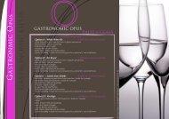 gastronomic opus gourmet - afvac avef lyon 2011