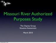 MRAPS – Osprey Group Presentation - Missouri River Association of ...