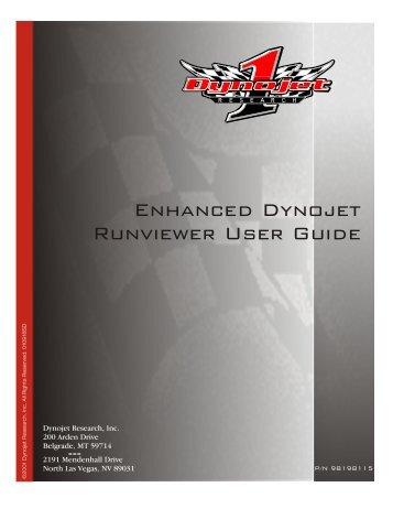 Enhanced Dynojet Runviewer User Guide - Dynojet Research