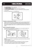 Elektrisk spik- och häftpistol Elektrisk spiker- og stiftepistol ... - Biltema - Page 7