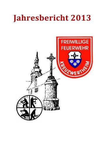 FW Kreuzwertheim Jahresbericht 2013