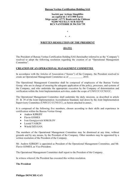 Operational Management English R01 Bureau Veritas