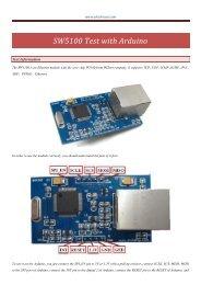 SW5100 Test with Arduino
