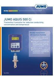 JUMO AQUIS 500 Ci