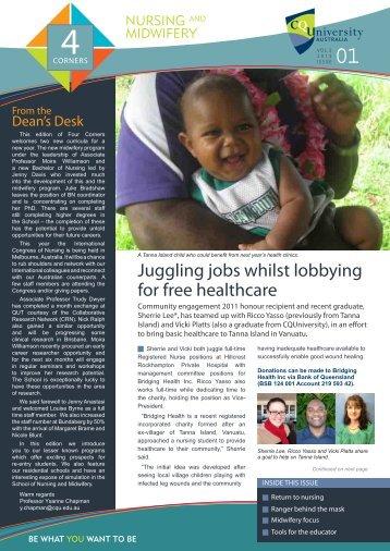 4 Corners Newsletter - Vol 5 - Central Queensland University