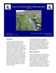 Goose Creek Water Quality Monitoring Report - Idaho Department of ...