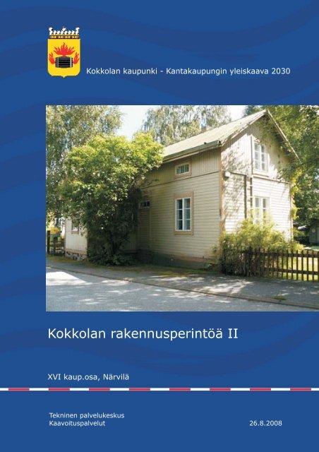 XVI kaup.osa, Närvilä - Kokkola