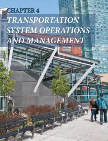 transportation system operations and management - New York ...